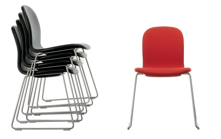Jasper Morrison Tate Chair in Fabric or Leather Upholstery for Cappellini In New Condition For Sale In New York, NY