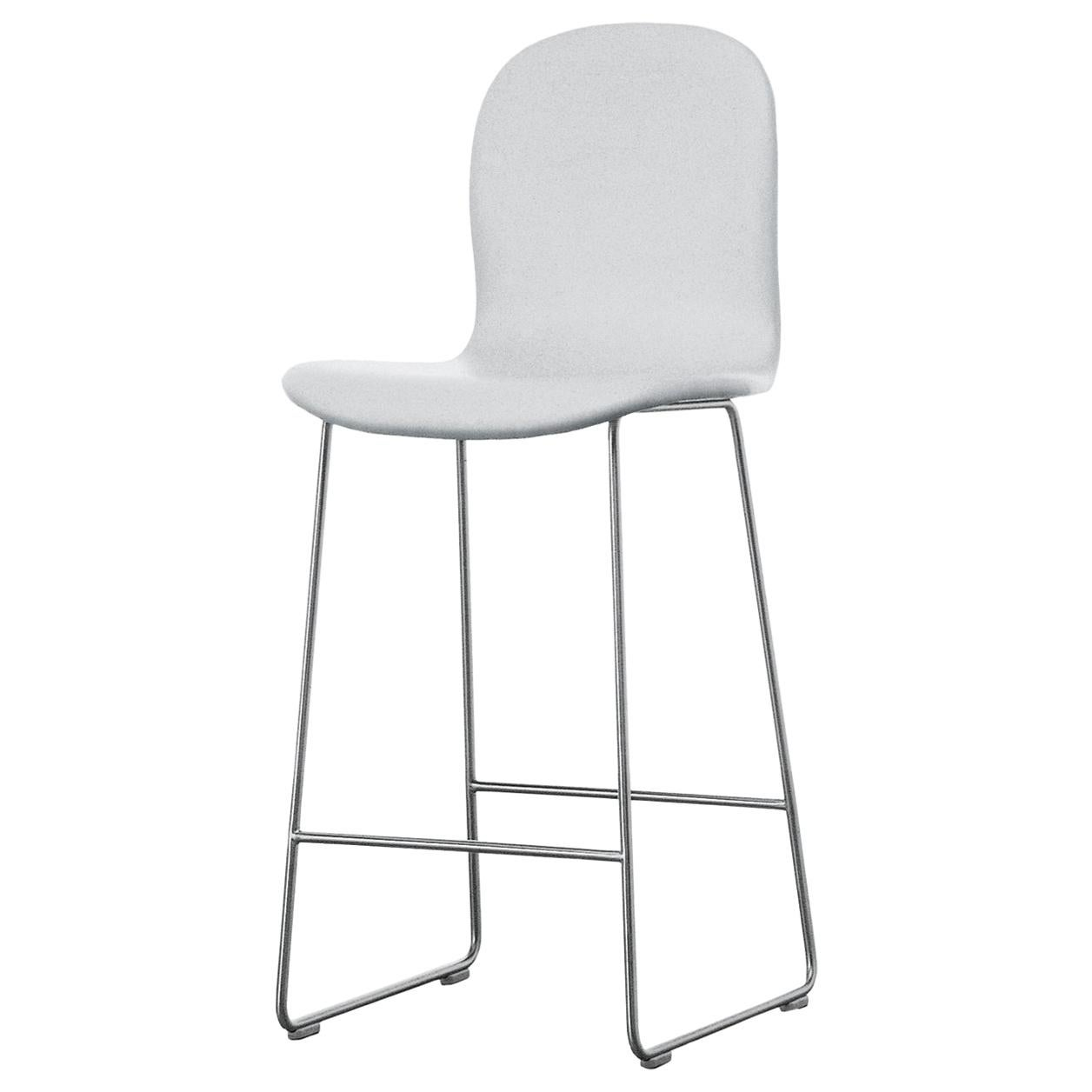 Jasper Morrison Tate Stool Upholstered in Fabric or Leather for Cappellini