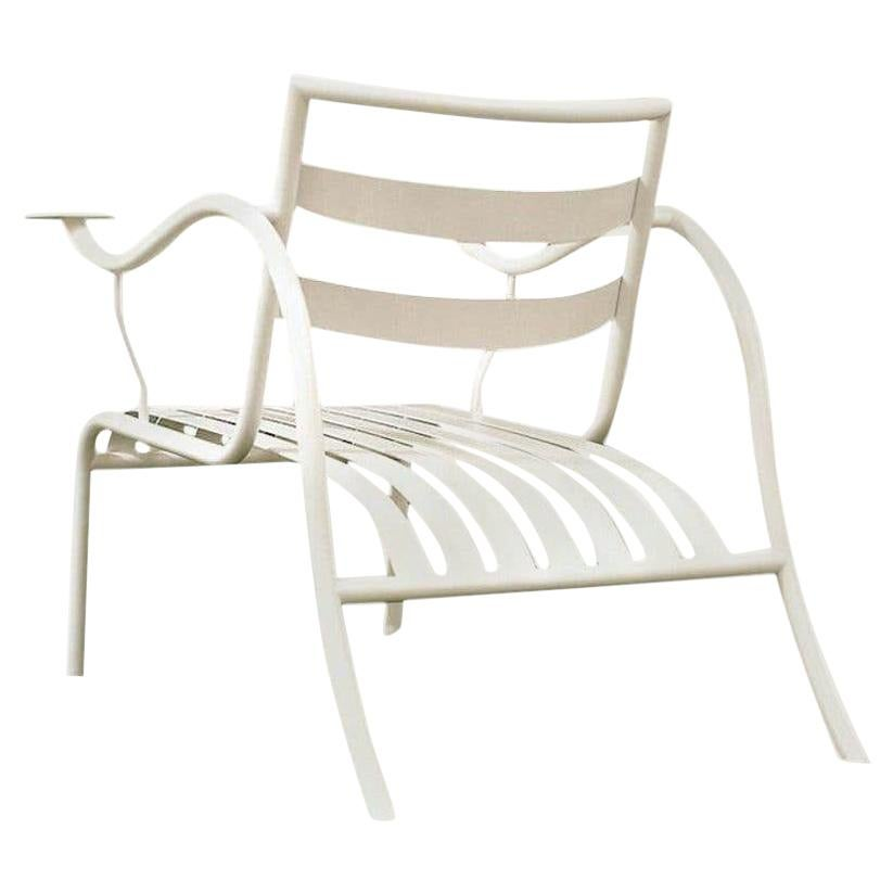 Jasper Morrison Thinking Man's Outdoor Chair in Gypsum White for Cappellini