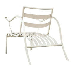 Jasper Morrison Thinking Man's Outdoor Chair in Gypsum White for Cappellini