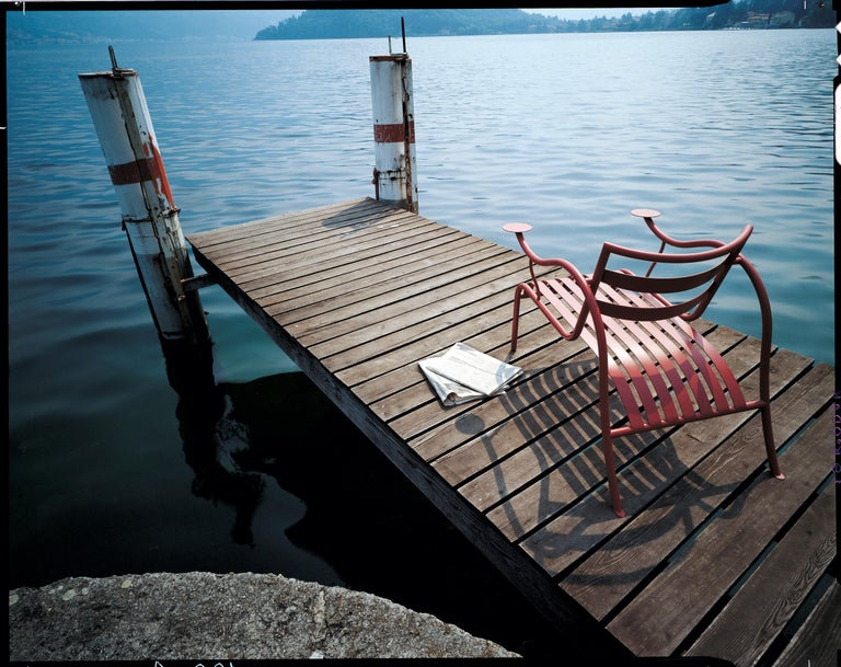 Italian Jasper Morrison Thinking Man's Outdoor Chair in Varnished Metal for Cappellini For Sale