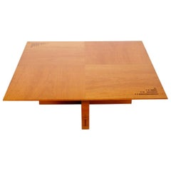 Jaume Tresserra Marquetry Walnut Coffee Table