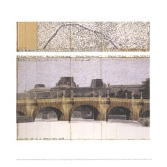 1995 After Javacheff Christo 'Le Pont Neuf Wrapped II' Contemporary
