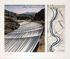 2005 Javacheff Christo 'Over the River, project for the Arkansas River'