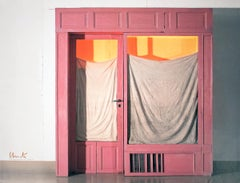"""Javacheff Christo-Wrapped Store Front-21"""" x 27""""-Offset Lithograph-2011"""