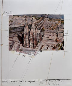 Mein Kölner Dom Wrapped, Project for Köln, from: Five Urban Projects  Bulgarian
