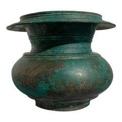 Javanese Bronze Offering Vessel, Central Javanese Period, 13th Century