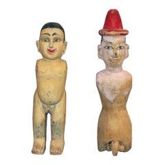 Javanese Folk Art Figures