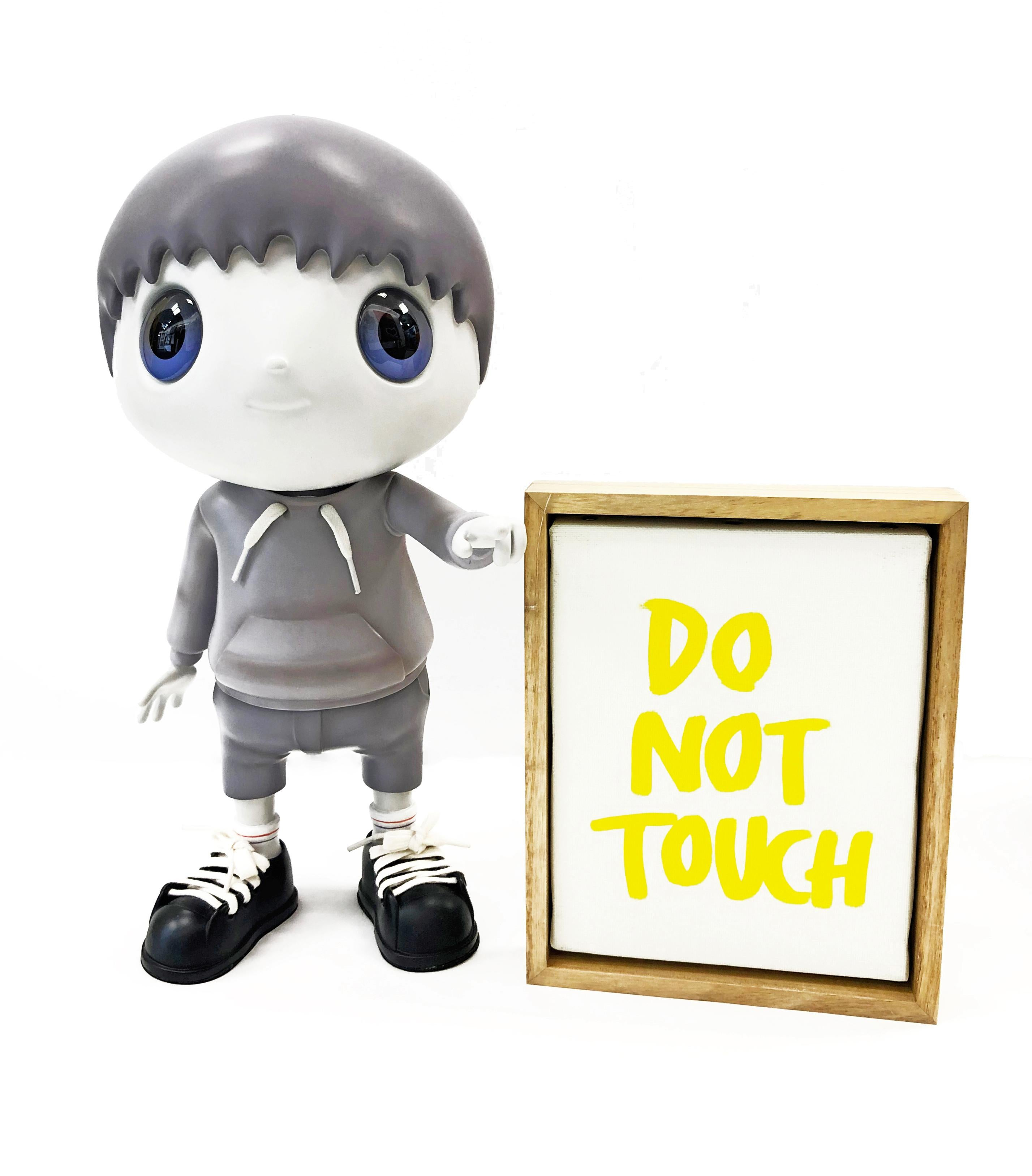 DO NOT TOUCH (GREY)