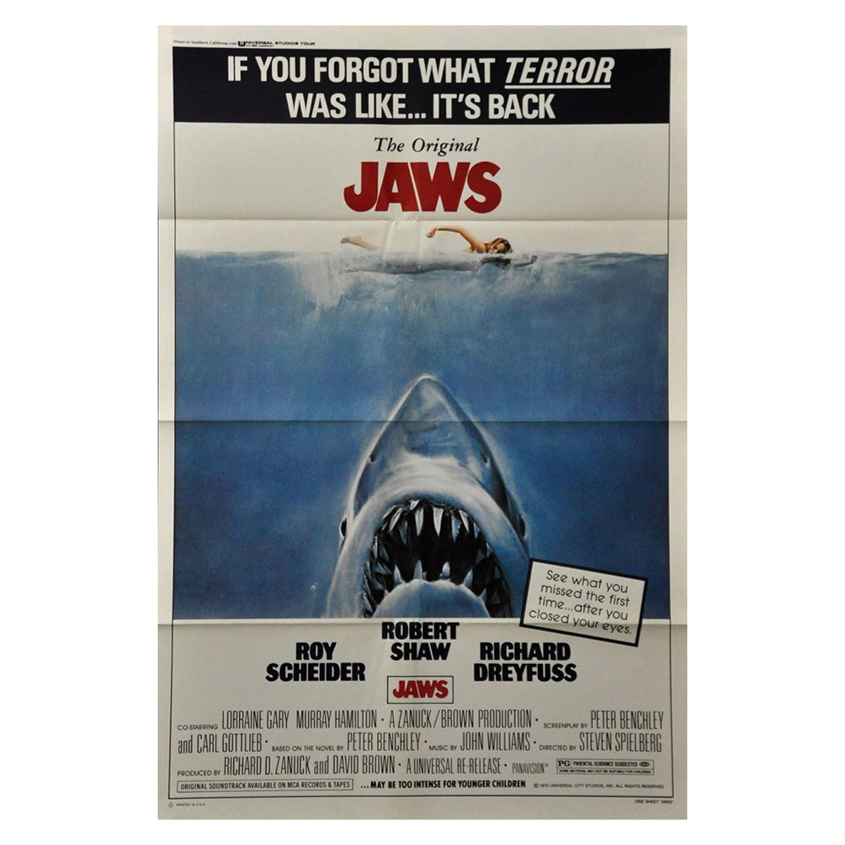 """""""Jaws"""" '1979r' Poster"""