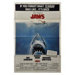 """Jaws"" '1979r' Poster"