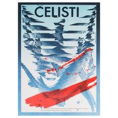 Jaws R1987 Czech A3 Film Poster, Ziegler