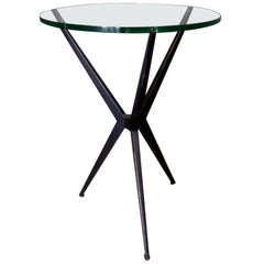 Jax Sculptural Tripod Base Side Table, Offered by La Porte