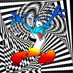 Let me out Mr. Pantone! Pop Art, Street Art