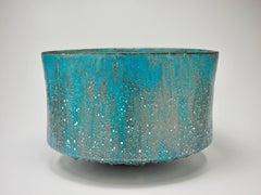 Turquoise Blue Vessel