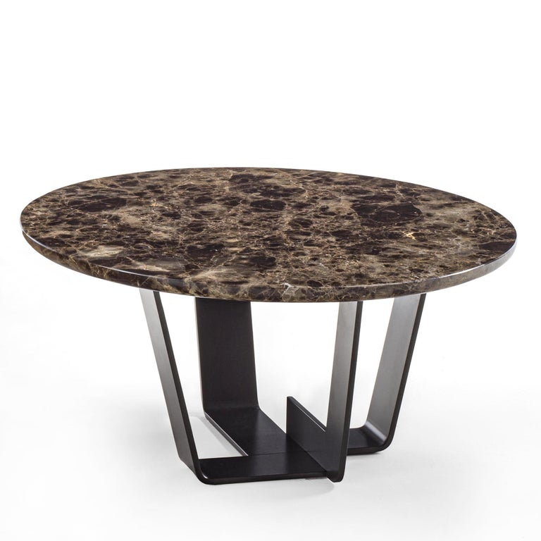 Italian Jay Marble Coffee Table For Sale