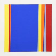 Cycle 1, Colorfield Silkscreen by Jay Rosenblum