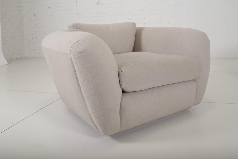 Modern Jay Spectre Lounge Chairs in Cashmere For Sale