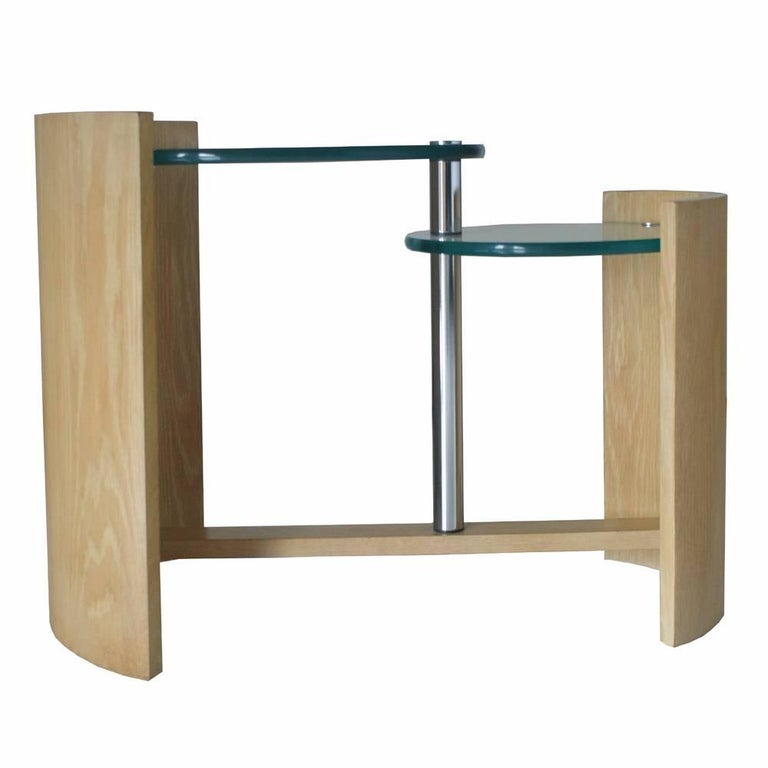 American Jay Spectre Occasional Two Level Table For Sale
