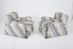 Jay Spectre Steamer Lounge Chairs