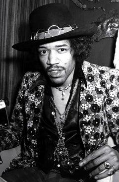 Jimi Hendrix Candid Backstage Fine Art Print