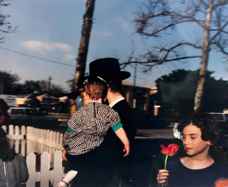 Lag Baomer Signed Vintage Color Photograph Chicago Judaica Photo Chabad J Wolke For Sale 1