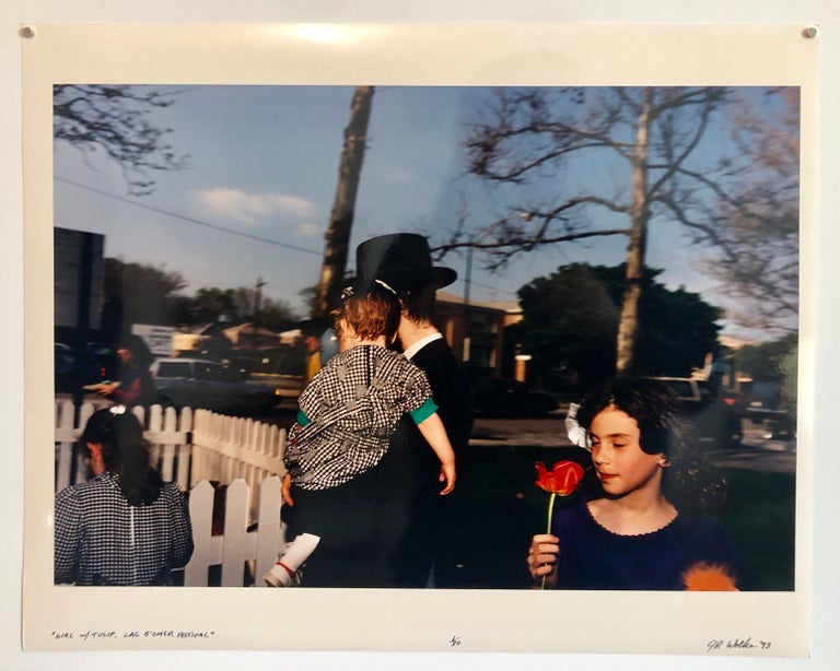 Lag Baomer Signed Vintage Color Photograph Chicago Judaica Photo Chabad J Wolke For Sale 7
