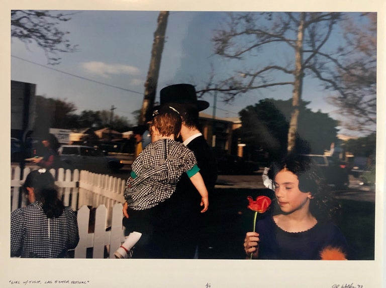 This is from a series done about the Habad Hasidic Jewish community in Chicago. This is from the holiday Lag Baomer. Jay Wolke lives and works in Chicago, Illinois. He has had solo exhibitions at the Art Institute of Chicago, the St. Louis Art