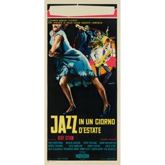 """Jazz on a Summer's Day /  Jazz I un Giorgno D'estate"" Italian Film Poster"