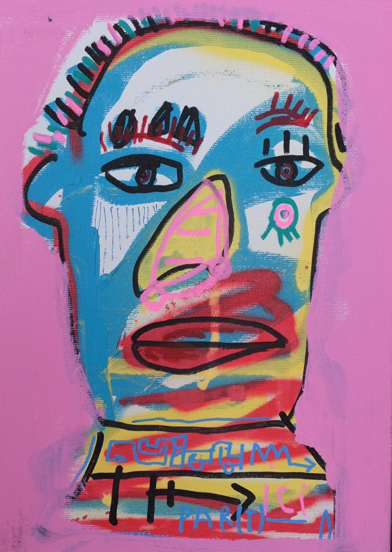 "Acrylic ""PART DE MOI""  Jazzu 2019"