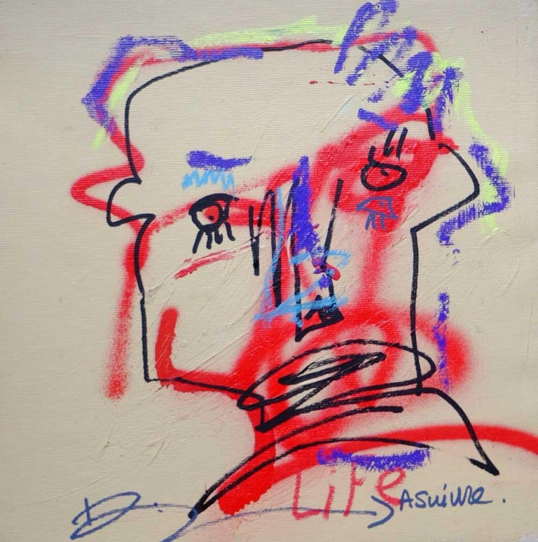 Jazzu Abstract Painting - JAZZU - A SUIVRE