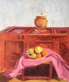 Classic Still Life Oil Painting - British Artist