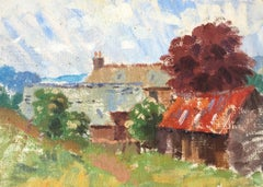 Old Farmhouse, Medium Sized,  Oil Painting