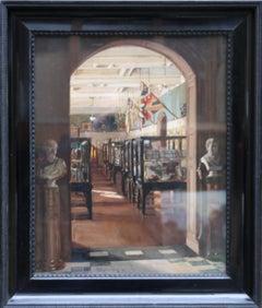 Kelvingrove Glasgow - Scottish oil painting interior museum art gallery Scotland