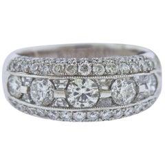 JB Star 2.17 Carat Diamond Platinum Band Ring