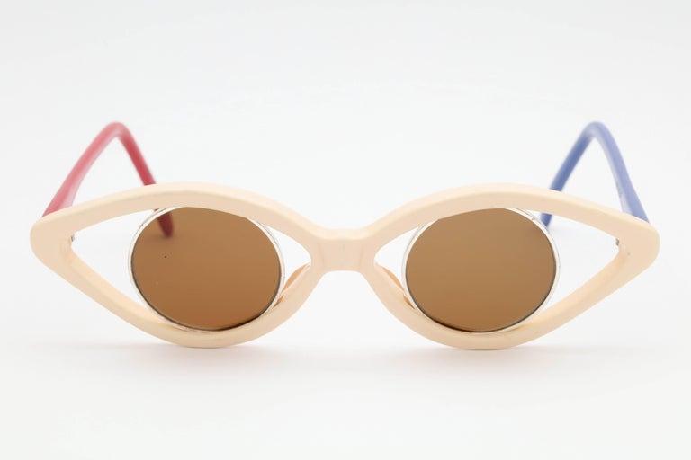 J.C. De Castelbajac Vintage Sunglasses In Excellent Condition For Sale In Chicago, IL