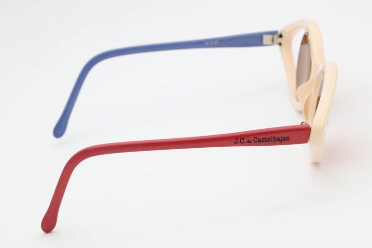 J.C. De Castelbajac Vintage Sunglasses For Sale 1