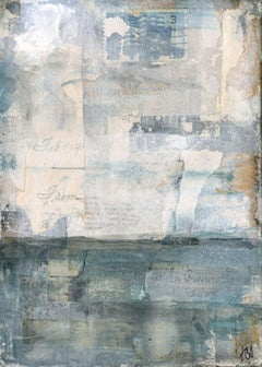 """""""Distressed II,"""" Mixed Media Painting"""