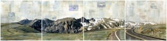 """RMNP Panoramic Views"" Mixed Media Painting"