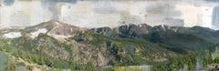 """Rocky Mountain Jim"" Mixed Media Painting"