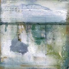 """Wabi Sabi XII"" Mixed Media Painting"