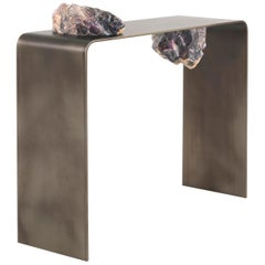 JCP Universe Agment Console with raw Amethyst stone elements by CTRLZAK