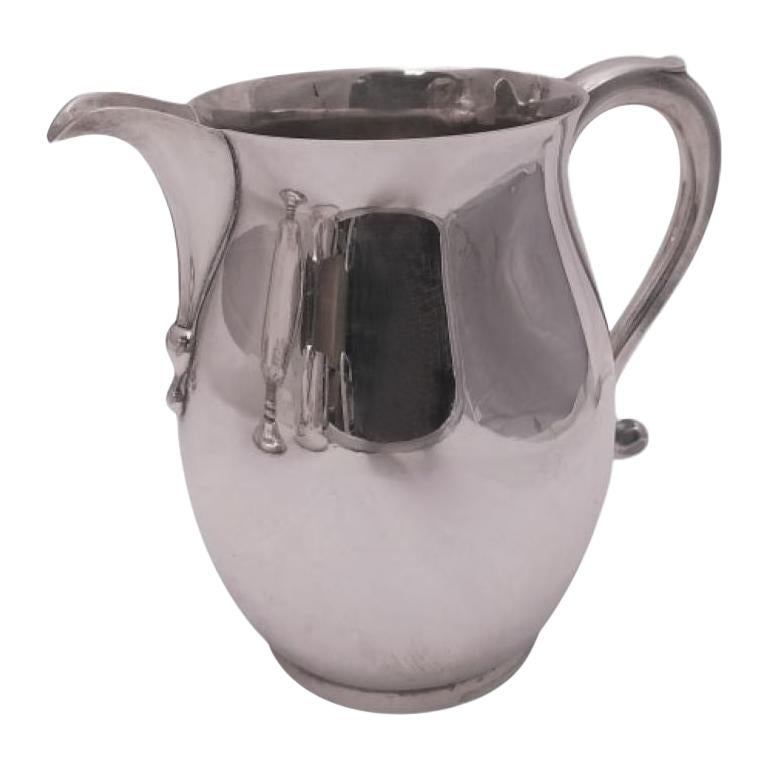 J.E. Caldwell & Co. Sterling Silver Bar Pitcher