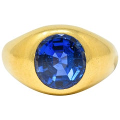 Sapphire Band Rings