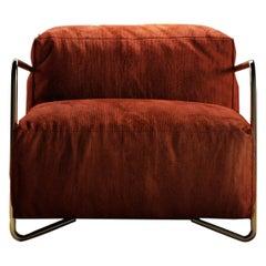 JE T'Attends Armchair Velvet
