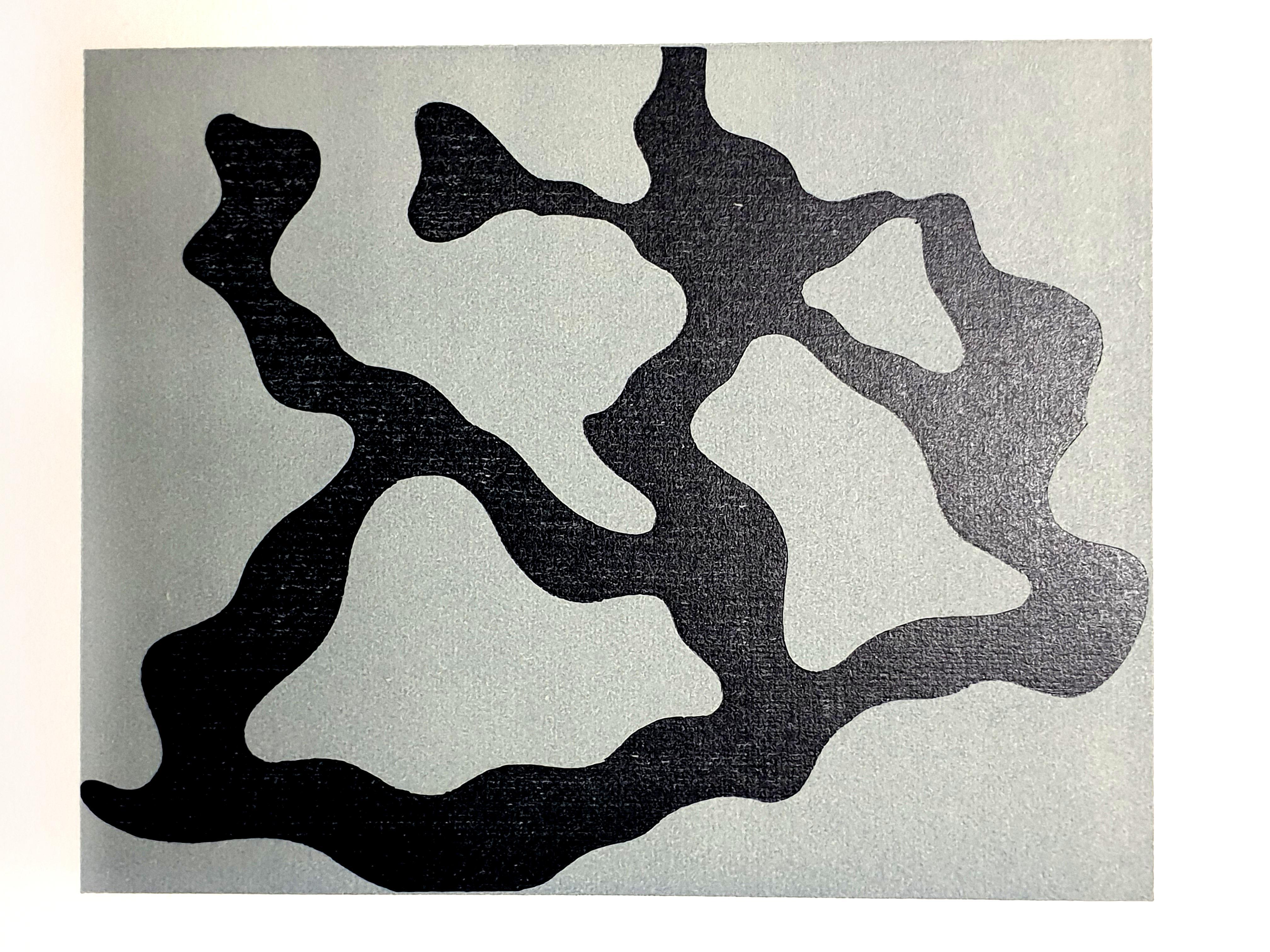 Jean Arp -  Original Etching