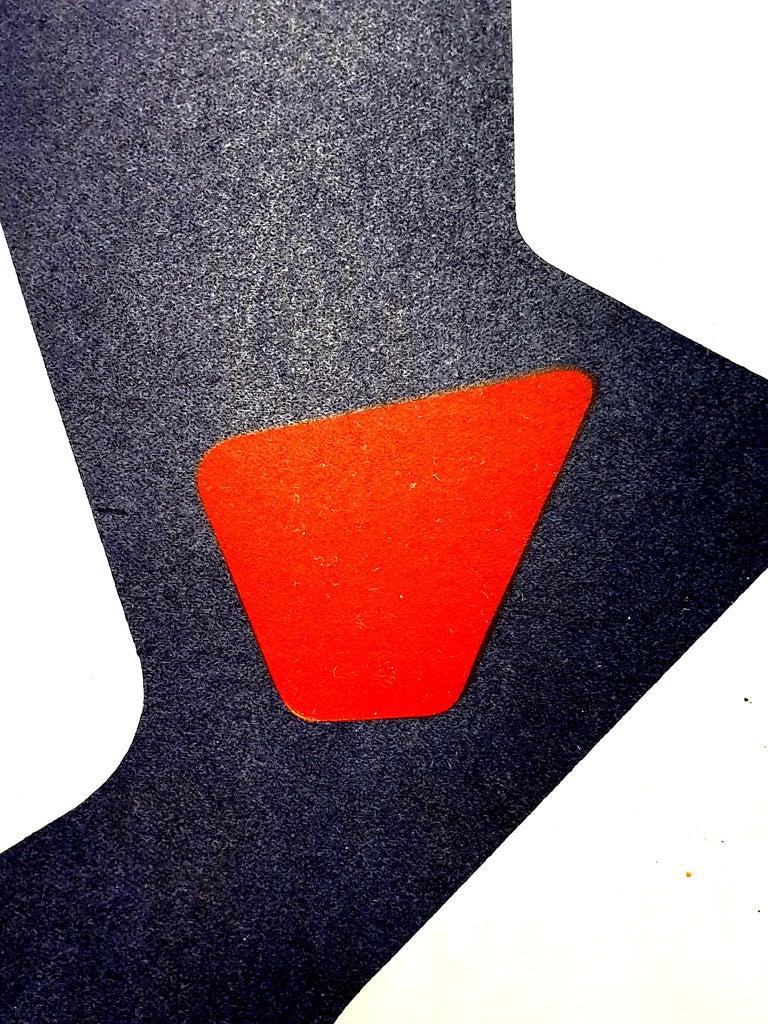 Jean Arp -  Original Lithograph - White Figurative Print by Jean Arp