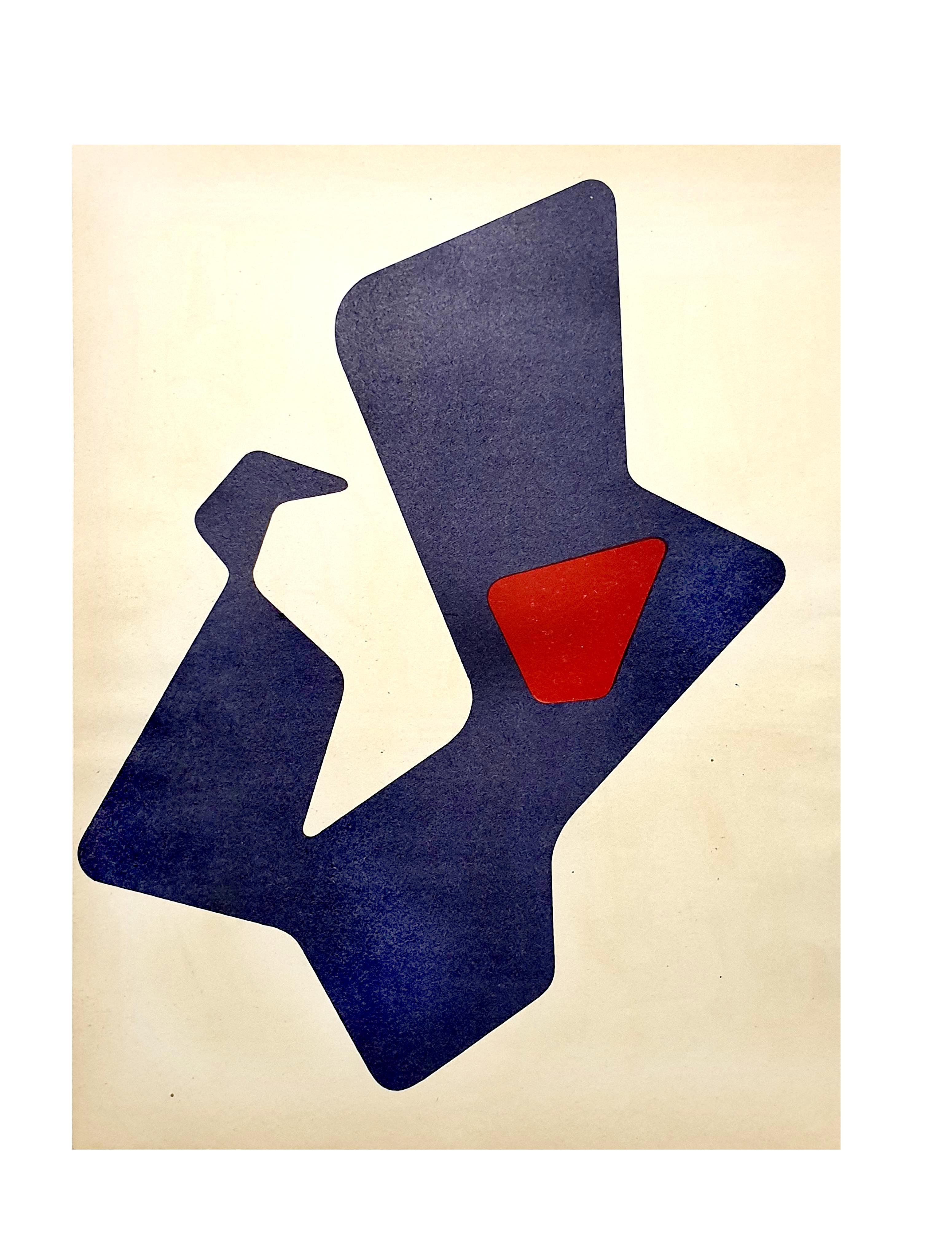 Jean Arp -  Original Lithograph