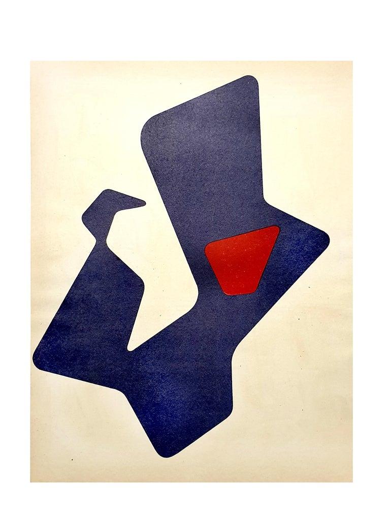 Jean Arp -  Original Lithograph - Print by Jean Arp
