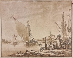 Pair of aquatints by Le Prince